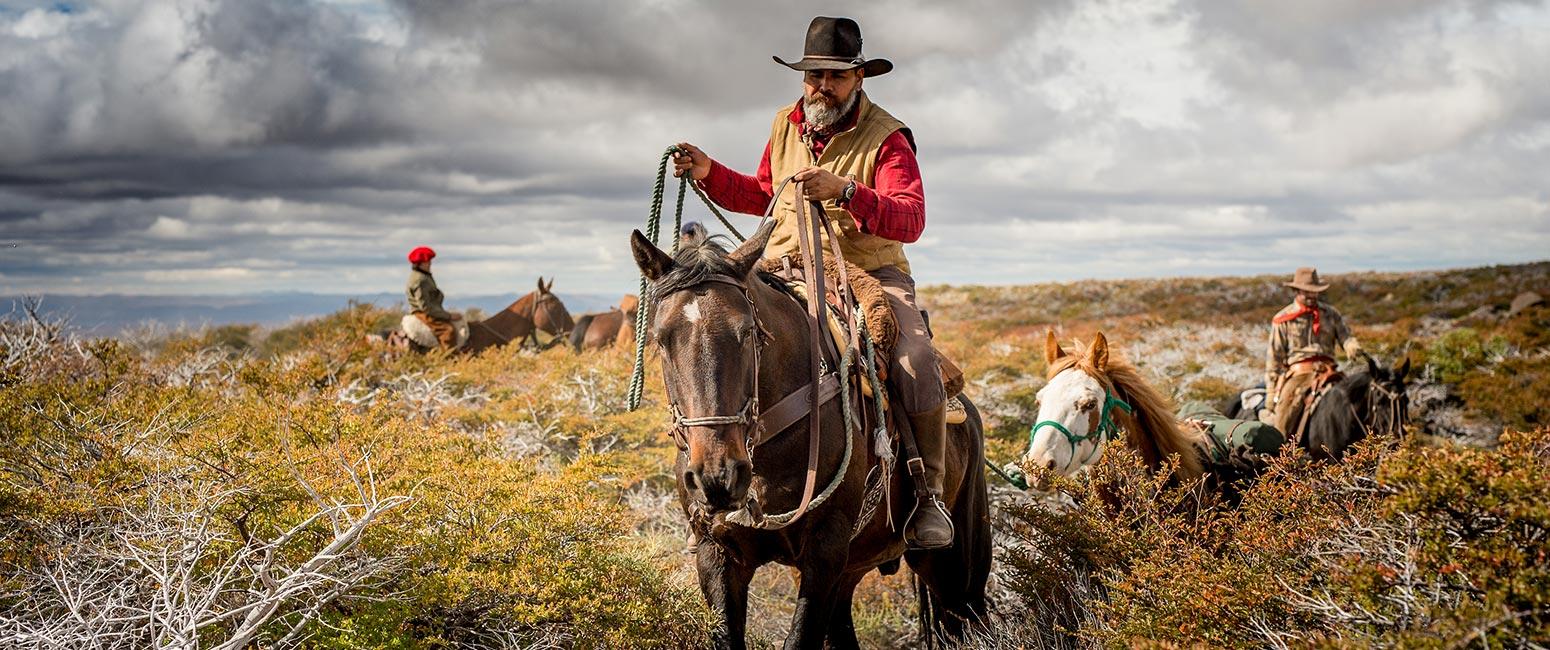 Cabalgata en Patagonia