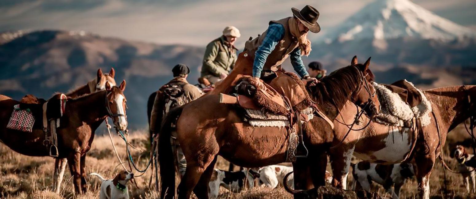 Peart - cabalgata en Patagonia